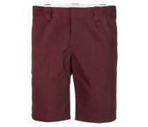 Slim Stgt - Chino Shorts für Herren - Rot