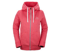 Cascara Fleece - Kapuzenjacke für Damen - Pink