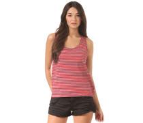 Stripe - Top für Damen - Rot