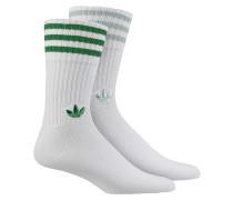 Solid Crew 2-Pack Socken - Weiß