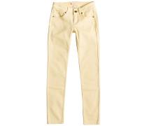 Golden Leaves - Jeans für Mädchen - Gelb