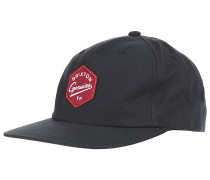 Yates Snapback Cap - Schwarz