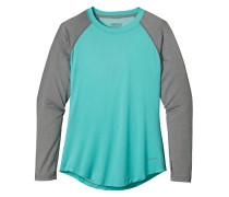 Tropic Comfort Crew - Langarmshirt für Damen - Blau