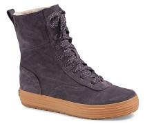 Carson Suede/Shearling - Sneaker für Damen - Grau