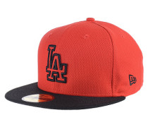 Diamond Basic Los Angeles DodgersFitted Cap Rot