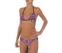 Bromelia Triangel - Bikini Set für Damen - Mehrfarbig