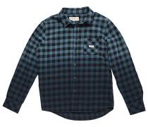 Dip Dye Check Flanel - Hemd für Jungs - Blau
