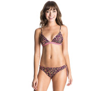 Reversible Fixed Triangle/R - Bikini Set für Damen - Schwarz
