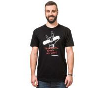 Freeriding - T-Shirt für Herren - Schwarz