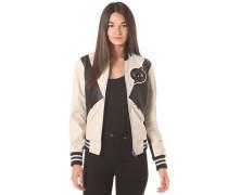 Block Contrast Bomber Moto PL - Jacke für Damen - Weiß