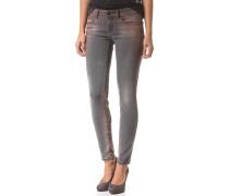 Queens Skinny - Jeans für Damen - Grau