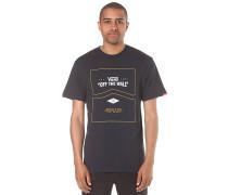 Side Stripe - T-Shirt für Herren - Blau