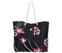 Printed Tropical - Tasche für Damen - Schwarz