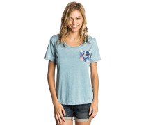 Pass Pocket - T-Shirt - Blau