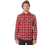 Hard Luck L/S Flannel - Hemd für Herren - Rot