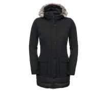 Tuvu - Mantel für Damen - Schwarz
