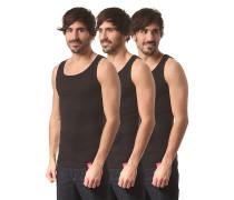 Proof 3 Pack - Unterhemd für Herren - Schwarz