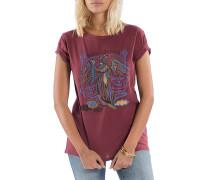 Ocean Tides - T-Shirt für Damen - Braun