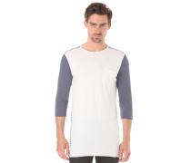 Rothbury Striped - Langarmshirt für Herren - Weiß