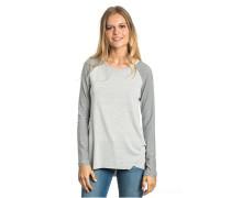 Pasaia - Langarmshirt für Damen - Grau