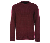 Broomall - Strickpullover - Rot