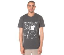 NYC Night Toast - T-Shirt für Herren - Grau