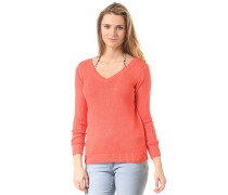 Visnap Knit - Langarmshirt für Damen - Orange