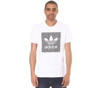 Word Camo - T-Shirt für Herren - Weiß