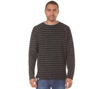 Striped - Langarmshirt für Herren - Schwarz