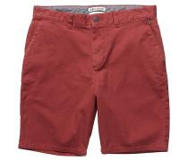 New Order - Chino Shorts für Herren - Rot