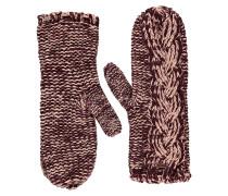 FOXy Knit Mitt - Handschuhe für Damen - Rot