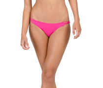 Simply Solid Full - Bikini Hose für Damen - Pink