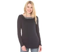 Zimt - Langarmshirt für Damen - Blau