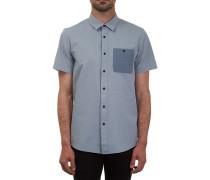 Hadley Solid S/S - Hemd für Herren - Blau