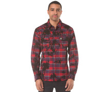 Burger Boys Flannel - Hemd für Herren - Rot