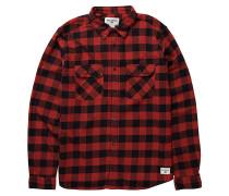 All Day L/S - Hemd für Herren - Rot