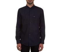 Everett Solid L/S - Hemd für Herren - Blau