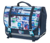 Cartable Ocean Glitch - Umhängetasche für Herren - Blau