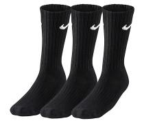 Value Cotton Crew 3 Pack - Socken für Herren - Schwarz
