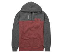 Balance Half Zip - Kapuzenpullover für Herren - Rot