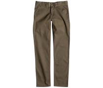 Worker Slim - Stoffhose für Jungs - Beige