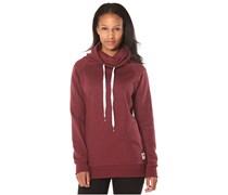 Alley - Sweatshirt für Damen - Rot