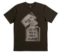 Dead Above - T-Shirt für Herren - Braun