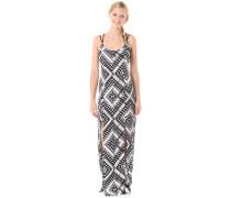 Poppy Maxi - Kleid für Damen - Schwarz