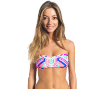 Rainbow Bandeau - Bikini Oberteil für Damen - Mehrfarbig