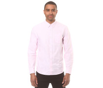 Button Down Pocket L/S - Hemd für Herren - Pink