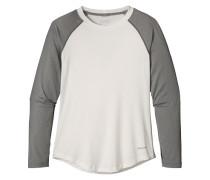 Tropic Comfort Crew - Langarmshirt für Damen - Weiß