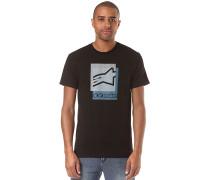 Overlap - T-Shirt für Herren - Schwarz