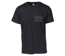 Rip Surfco Pocket - T-Shirt - Schwarz