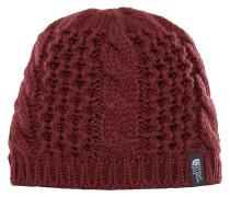 Cable Minna Mütze - Rot